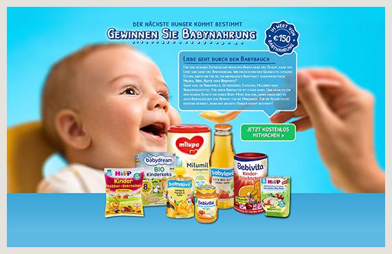 Babynahrung 2-Leadgenerierung-Kampagne-Elsovero-design