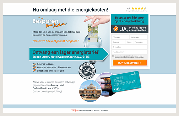 Besparen-kan-leadgeneratie-campagne-Elsovero