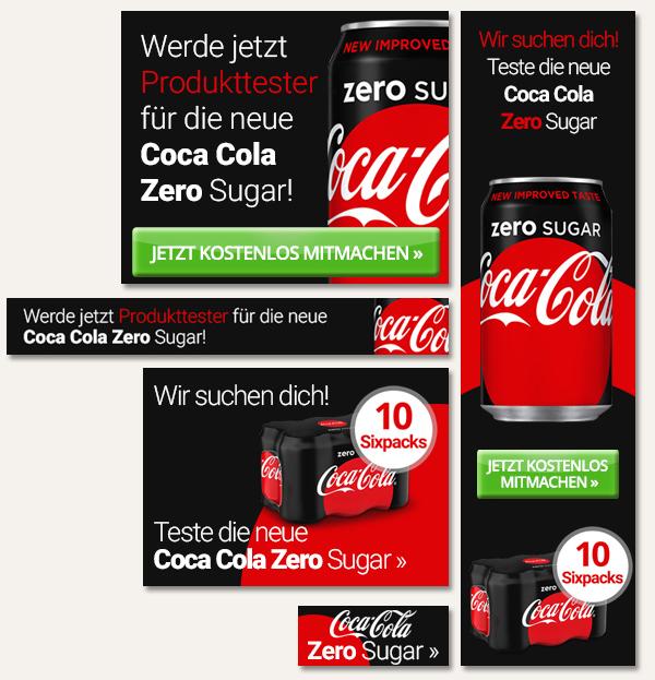 CocaColaZero-Leadgenerierung-Banner-Elsovero
