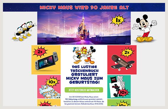 Disney 2 - Leadgenerierung Kampagne - Elsovero design