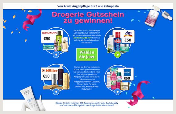 Drogerie Kampagne - Elsovero design