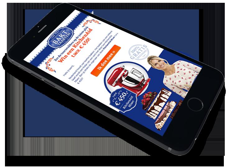 Heel Holland Bakt Taarten leadgeneratie campagnes - Elsovero design