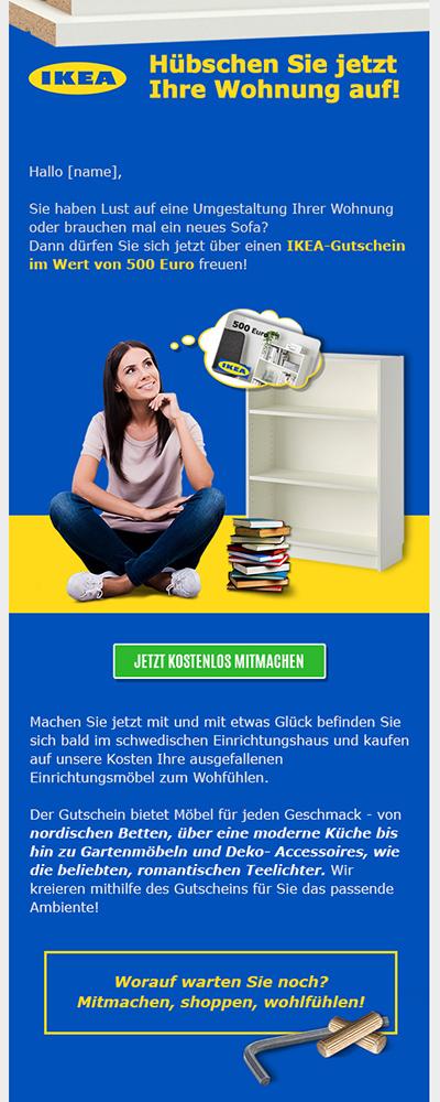 Ikea-Leadgenerierung-E-mailtemplate---Elsovero