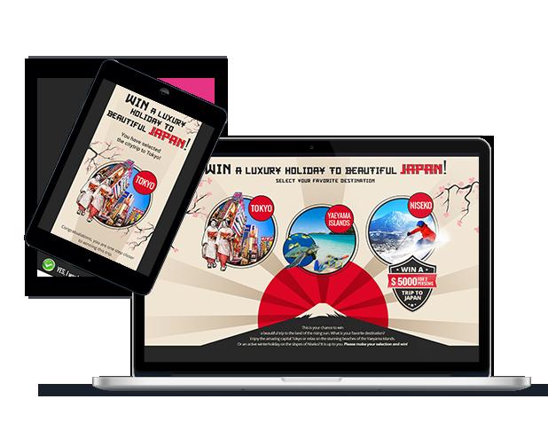 Japan- leadgeneratie campagne - Elsovero design